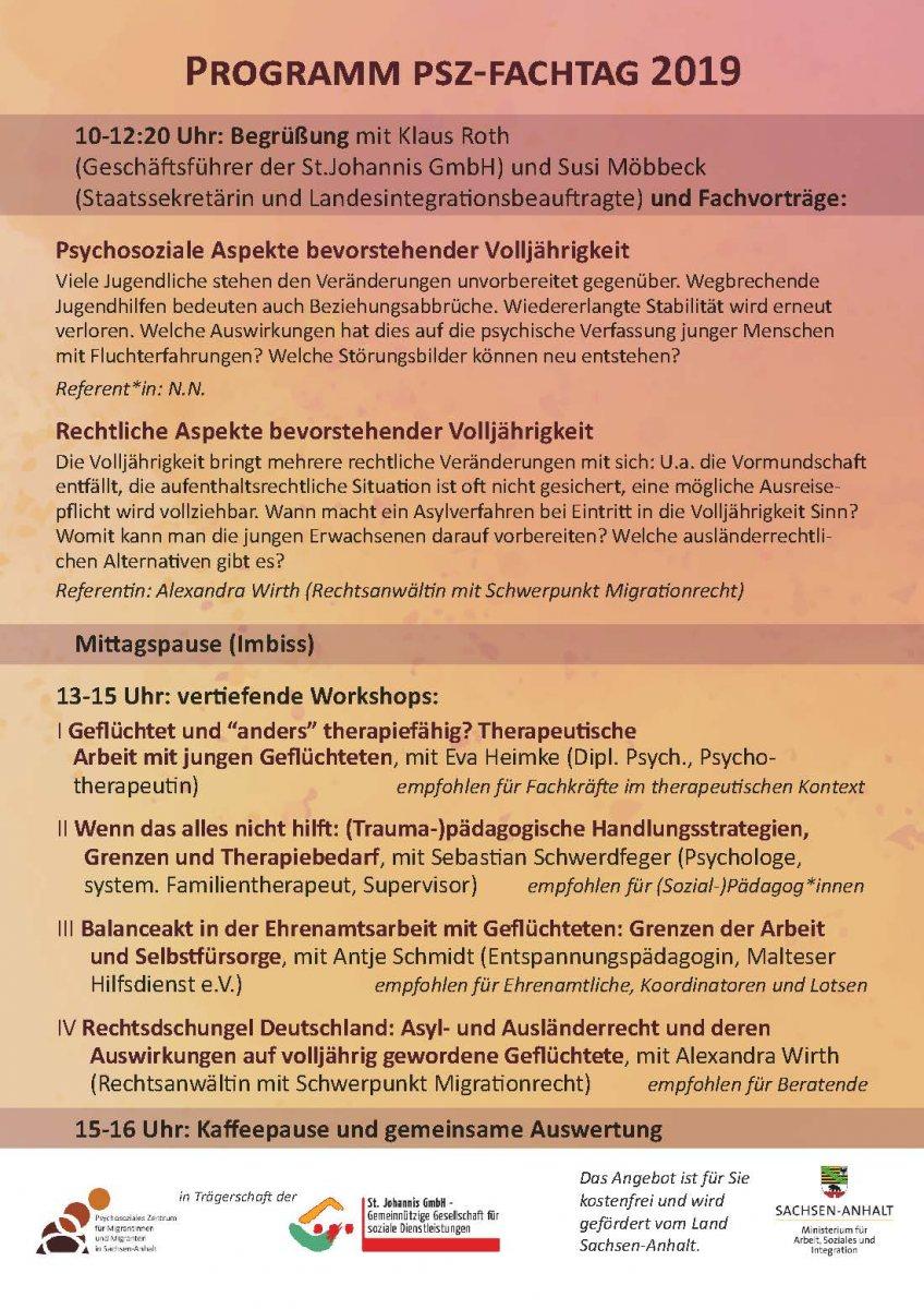 Flyer-PSZ-Fachtag-2019-Programm