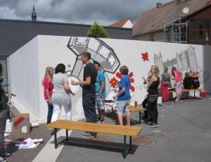 Bild Grafitti-Projekt