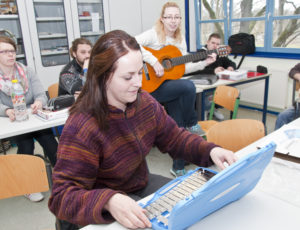 Instrumentalunterricht an der Fachschule Sozialwesen St Johannis