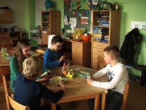 Karten spielen Kinder gern