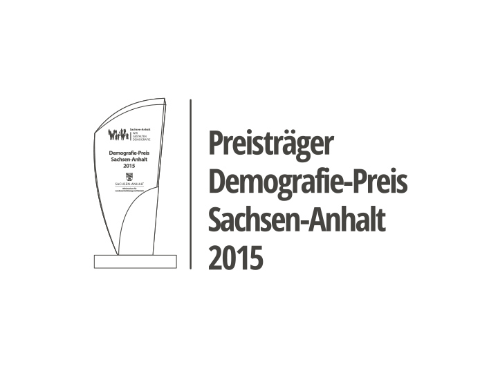 Preis Demografie 2015