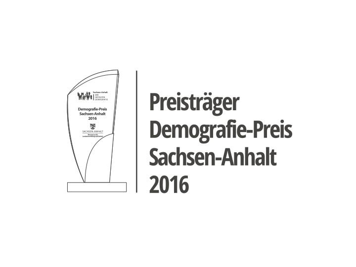 Preis Demografie 2016