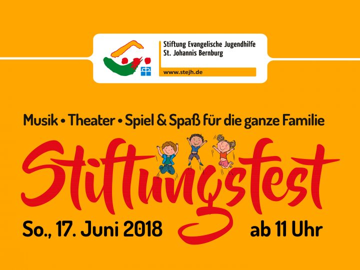 Eventgrafik Stiftungsfest 2018