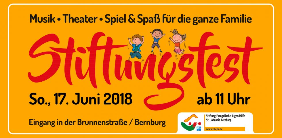 Eventgrafik Facebook Stiftungsfest 2018